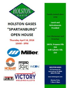 Open House Spartanburg 2016